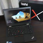 ThinkPad X1 Carbon 2016が届いた!写真付き開封レビュー